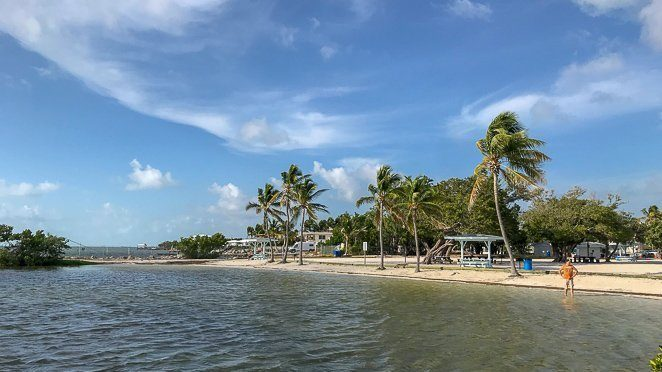 Harry Harris Park and Beach on Key Largo