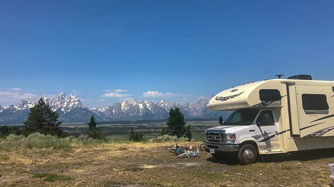 Living in a camper - Boondocking_