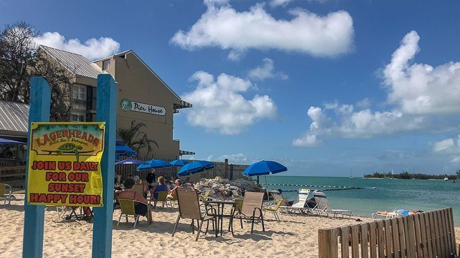 Logerheads Beachbar - Key West Florida Beach