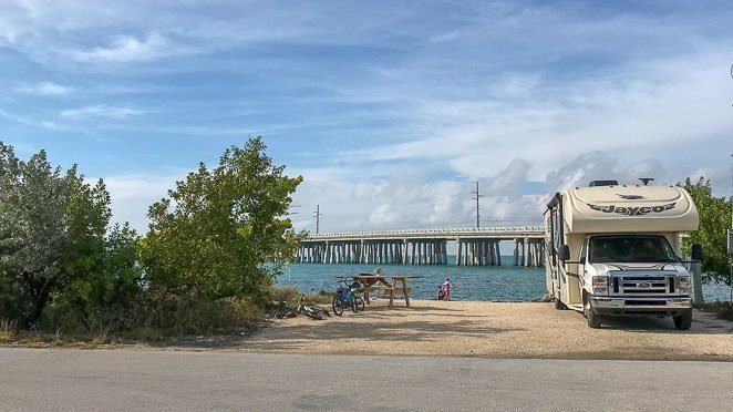 Places to stay in the Florida Keys - Bahia Honda State Park