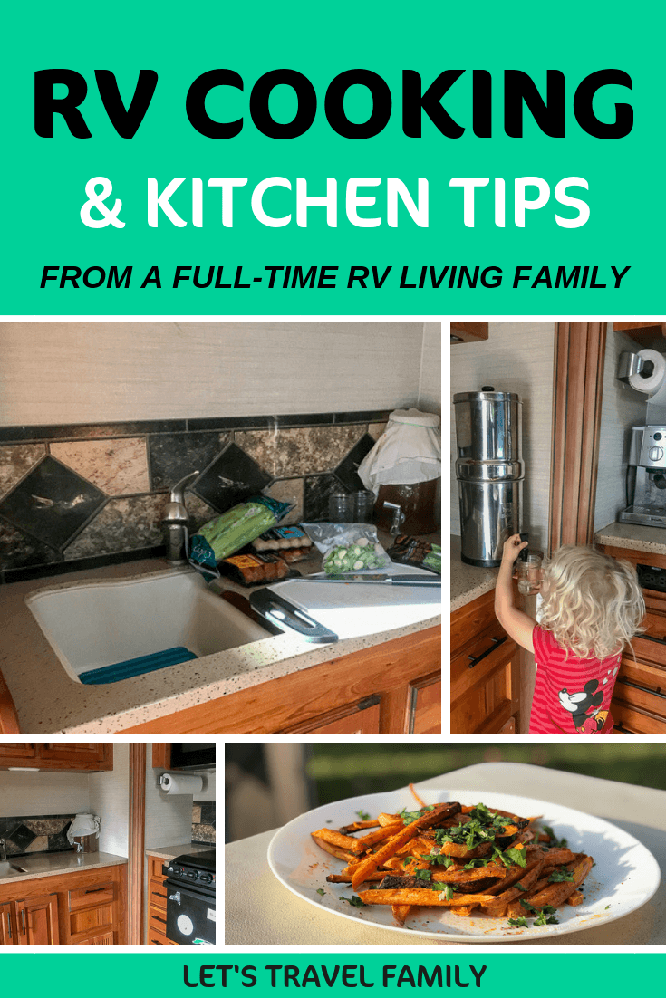 RV cooking and Kitchen Tips