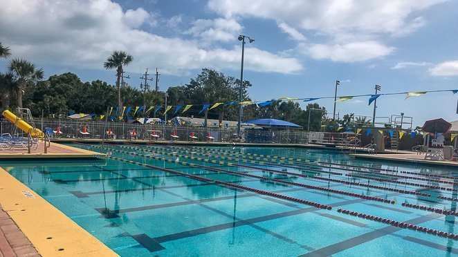 Things to do in Florida Keys for families - go swimming at Founder's Park