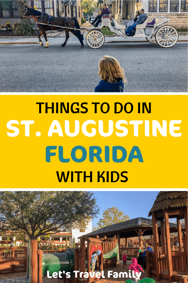 Are you planning a family vacation to St. Augustine, Florida? Then be sure to read our complete guide of 25 things to do while visiting this amazing city on the Atlantic coast of Florida. #florida #familyvacation #staugustine #familytravel #travel #vacation
