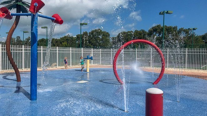 What to do in Florida Keys with kids - splash pad