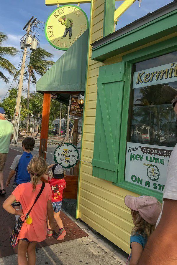 Key West For Kids - Key Lime Pie