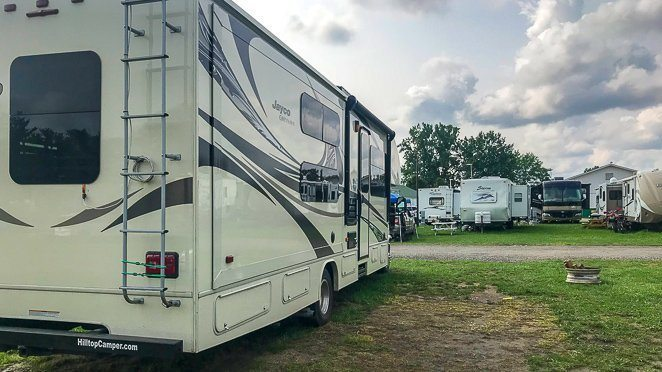 Owning an RV for dummies - How to back up your RV