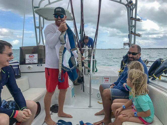 Parasailing - Key West Kids Activities_