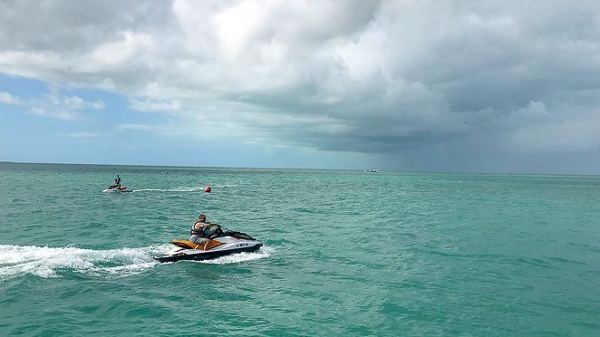To do Key West with kids - Jet Skiing