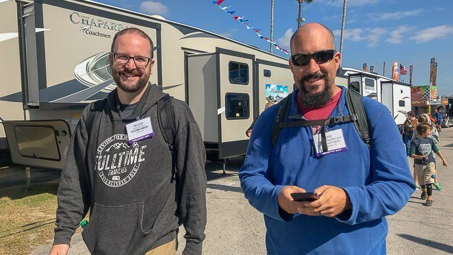 Visit The Tampa RV Show With Friends