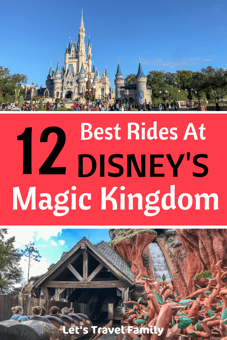 Check out our top 12 fun and exciting rides at Disney World's Magic Kingdom. We include tips for families with toddlers, our favorite thrill ride for adults and kids and tips on how to use your FastPass to help you plan your big day at Magic Kingdom. #Disney #DisneyWorld #MagicKingdom