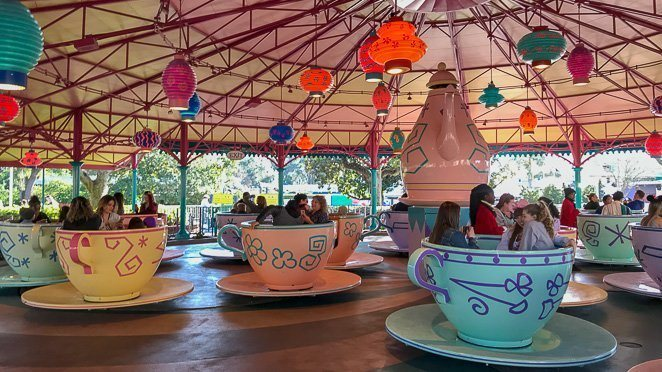 Disney Magic Kingdom Rides List - Mad Tea Party