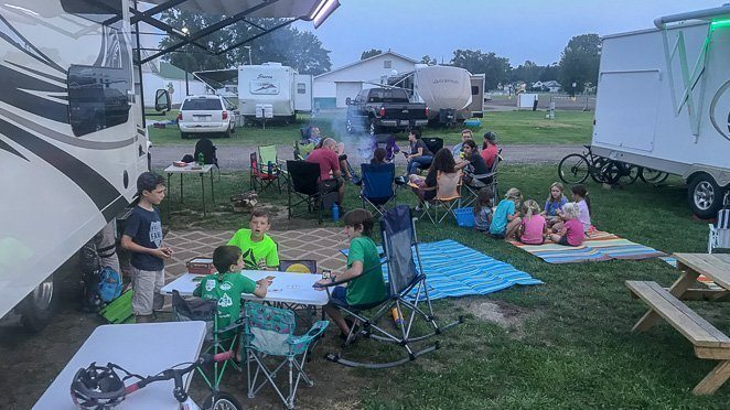 RVing the USA with friends