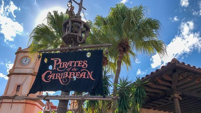 The best rides at Disney World Magic Kingdom - Pirates of the Caribbean