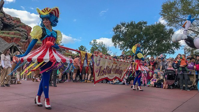 Walt Disney World Must Do - Festival of Fantasy Parade