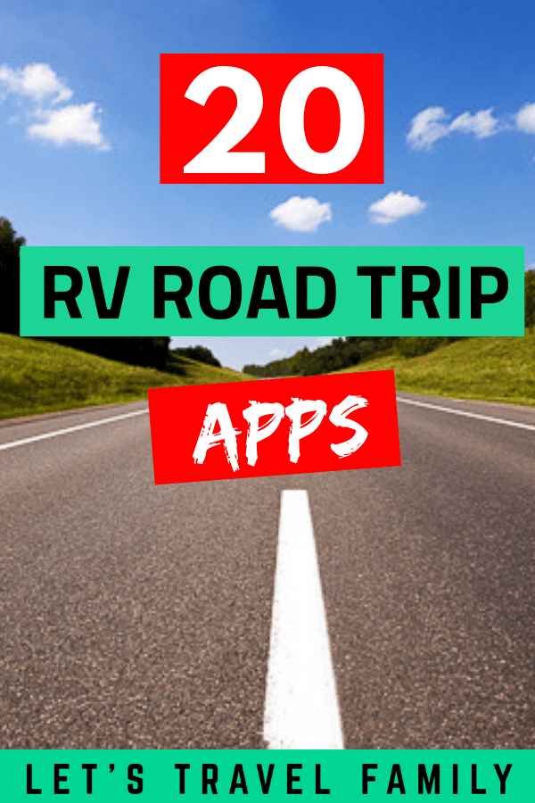 Best RV Road Trip Apps