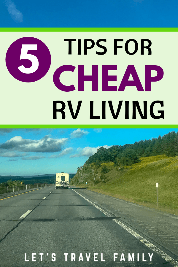 Cheap RV Living - Camping Memberships