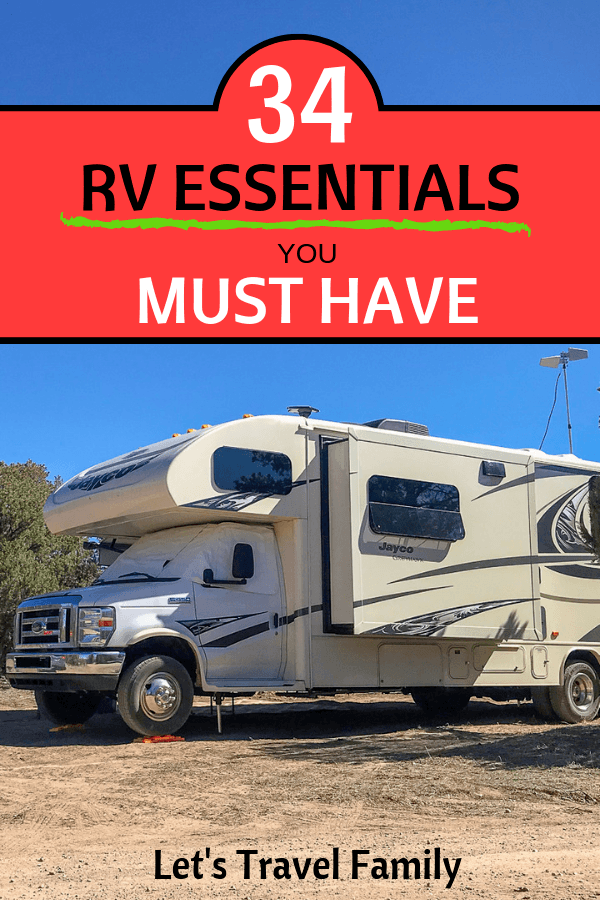 34 RV Must Haves - Essential RV Accessories - LTF