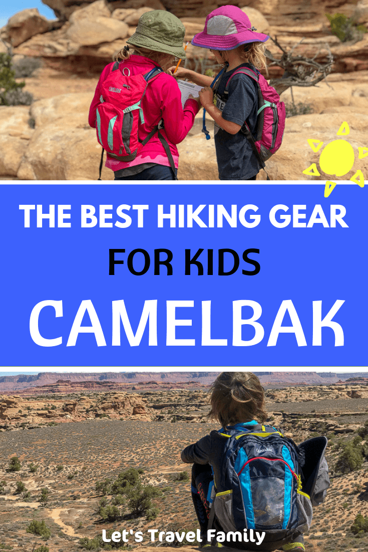 Best Hiking Gear for Kids - Camelbaks for Kids