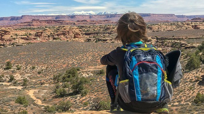 Camelbak Kids - Hiking with kids