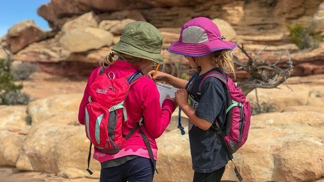 Homeschooling while traveling - Junior Ranger Program