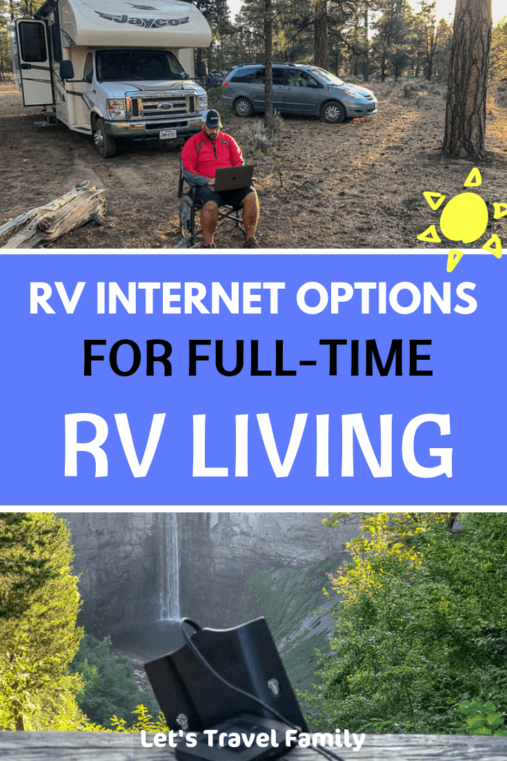 Internet in your RV while you are RVing