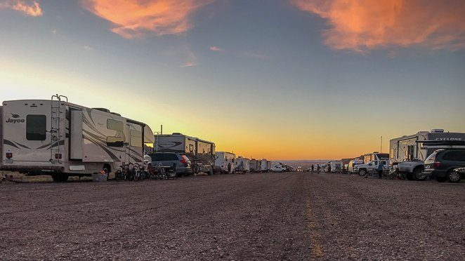 Living in RV - Where can I park my RV to live?