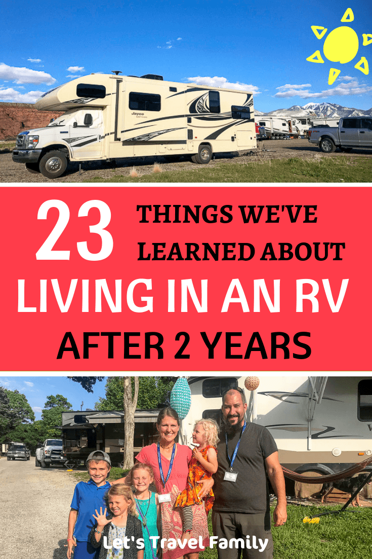 Living in an RV full Time - Things we've learned after 2 year