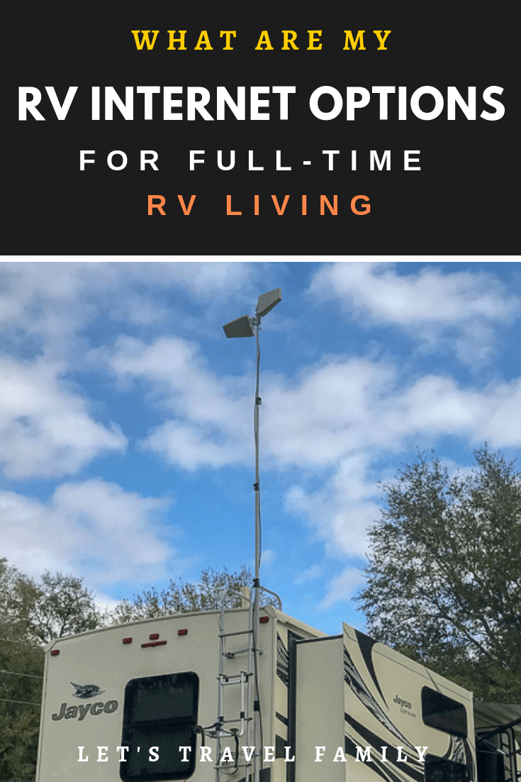 RV Internet Options for Full Time RV Living