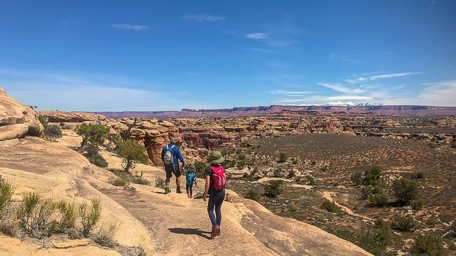 The best Canyonlands hikes in Canyonlands National Park