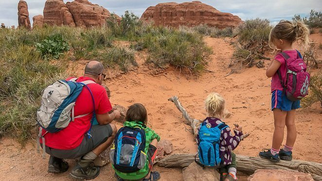 Best Hikes in Arches With Kids