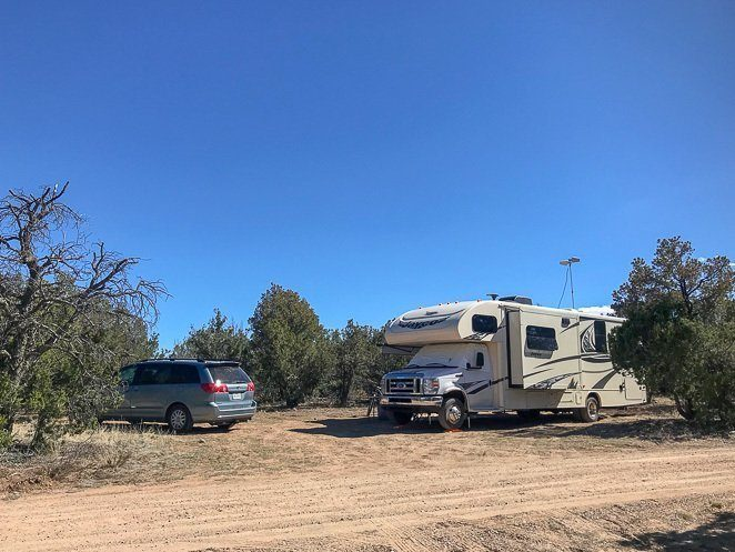 Boondocking and RV camping in New Mexico