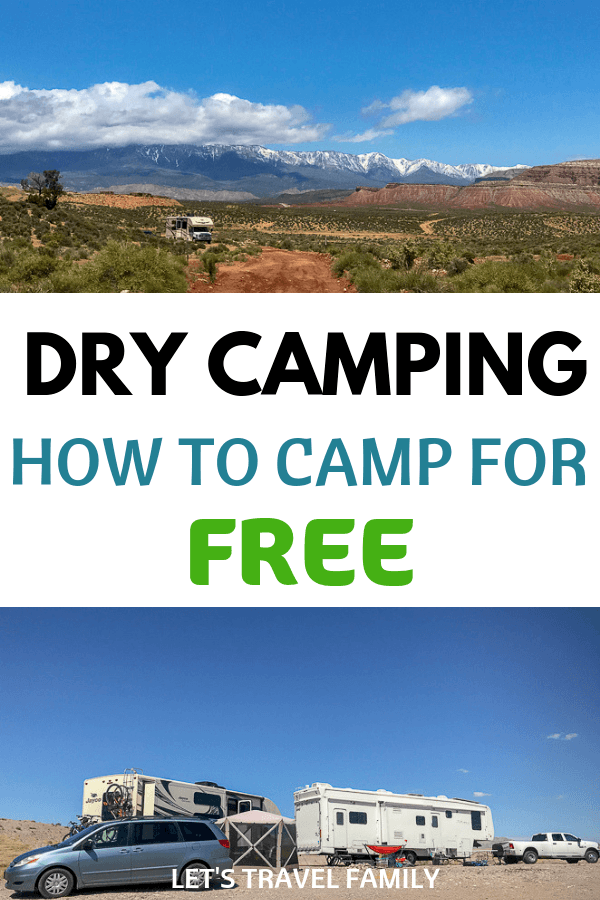 Dry Camping - How to camp for FREE