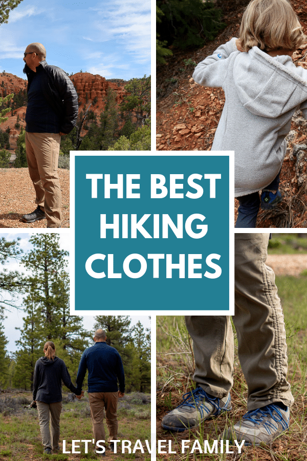 Best Hiking Clothes - What to Wear Hiking