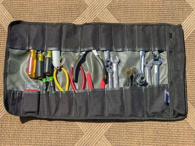 Camping tool kit