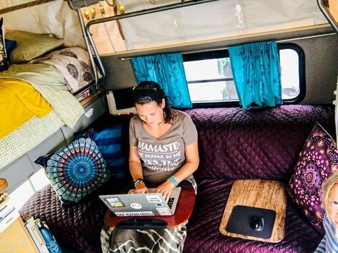 Digital Nomad RV Living Family