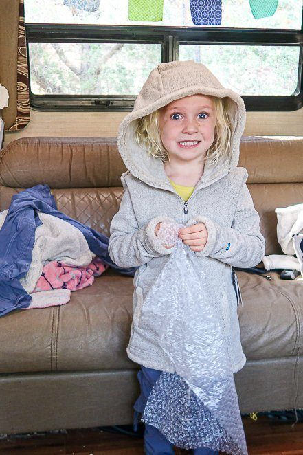 Kids hiking gear