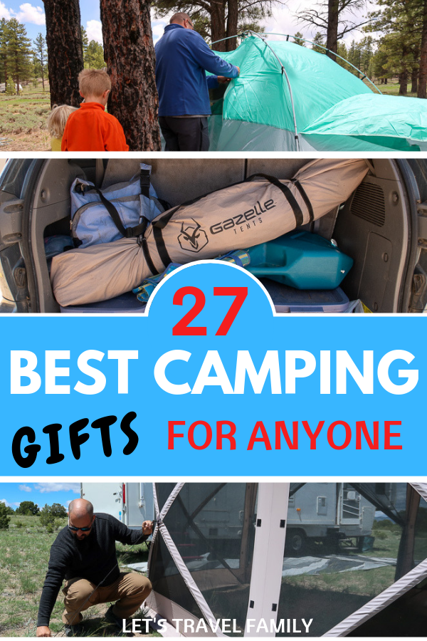 Unique Camping Gifts for men, women and children