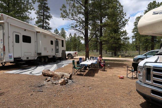 Camping at Bryce Canyon National Park