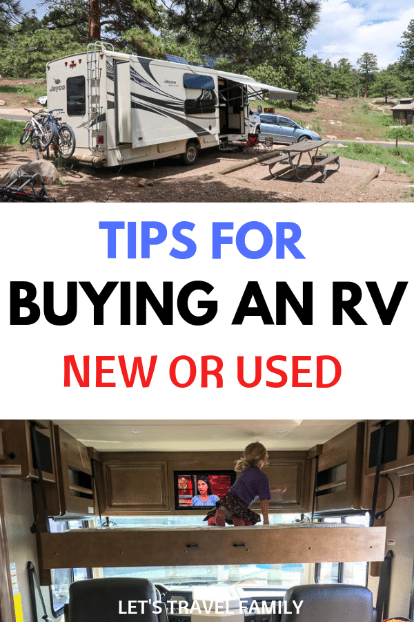 Buying RV first time