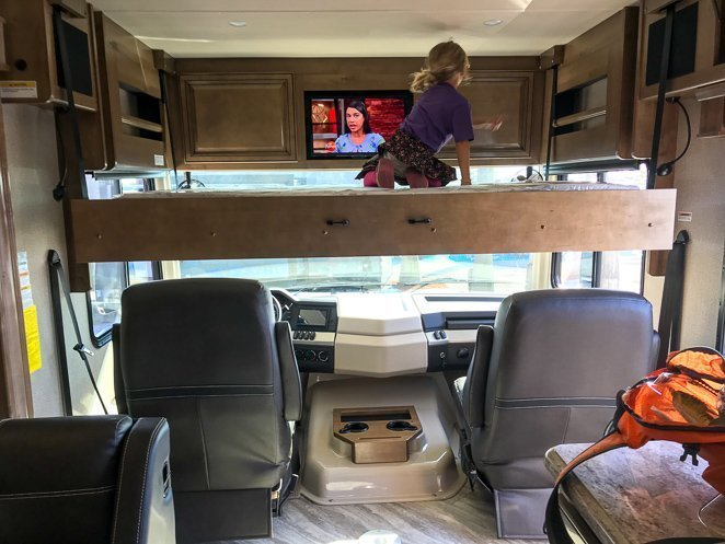 Features in an RV