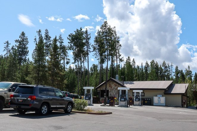 Gas Stations in Grand Teton National Park