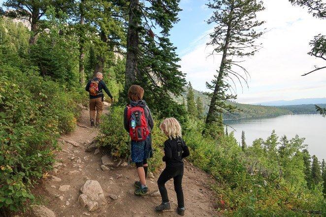 Hike a Trail around Jenny Lake