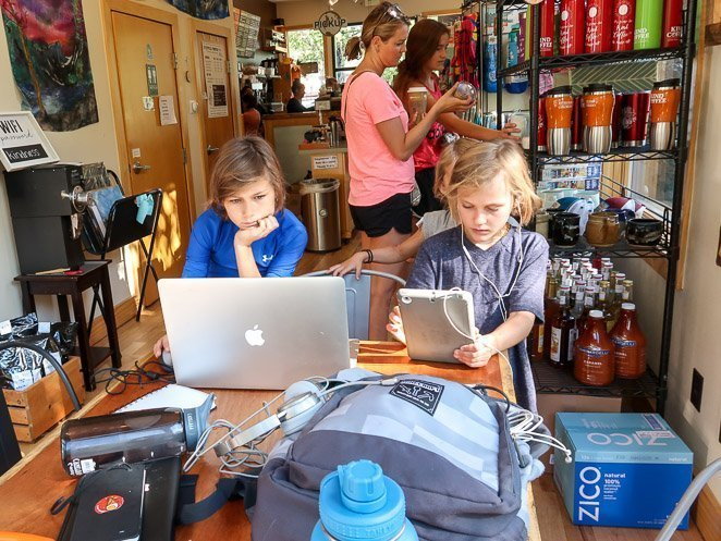 Homeschooling online and in new destinations