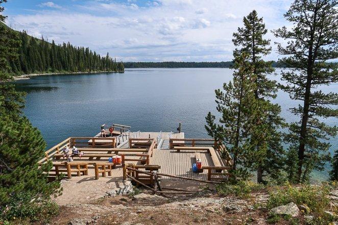 Jenny Lake Boat to Hidden Falls