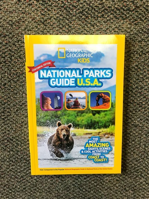 National Geographic's National Parks Guide USA