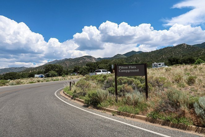 Pinon Flats campground