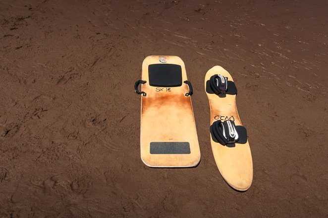 Sled and board