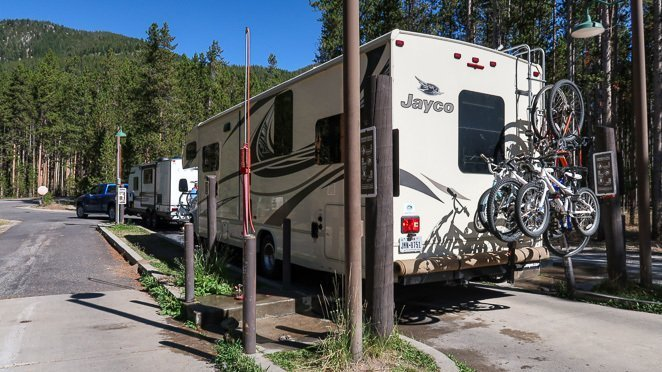 Plan Yellowstone Trip and stay at a campground