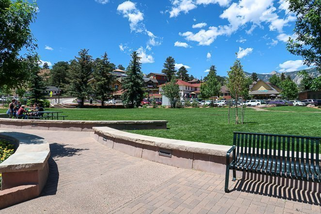 Estes Park Bench and Rest