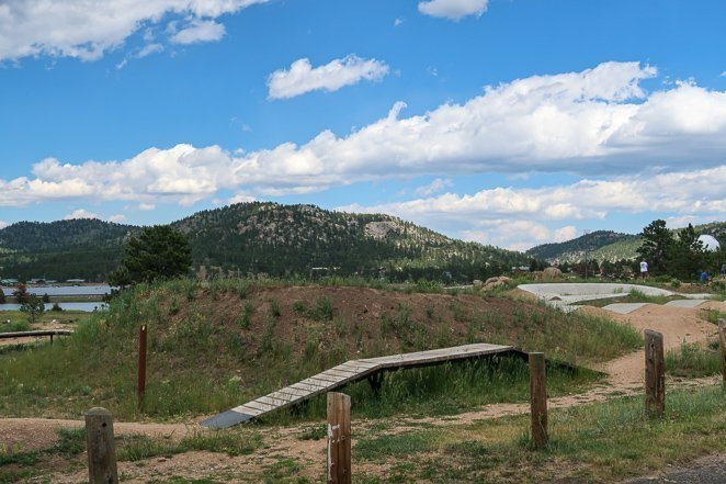 Estes Park Pump Track and Biking